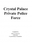 Crystal Palace police force 1879-1941