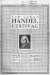 Great Handel Festival programme