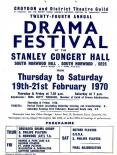 Stanley Halls event poster