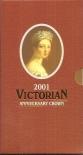 2001 Victorian Anniversary Crown
