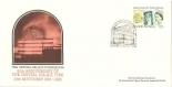 50th Anniversary of Crystal Palace Fire - First Day Cover (Queen's 60th birthday stamp)