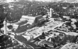 Aerial view Crystal Palace, London