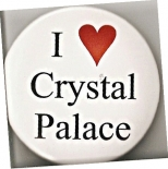 Button badge (I Love Crystal Palace)