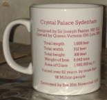 Crystal Palace Foundation mug