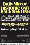 Daily Mirror Historic Car race meeting