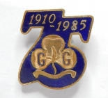 Girl Guides 75th Anniversary
