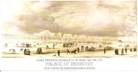 Palace of Industry by Ackerman & Co (View across the Serpentine during winter)