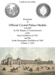 Recipients of Official Crystal Palace Medals - 1862