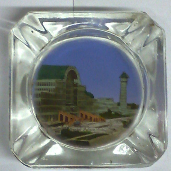 crystal palace souvenir Ashtray