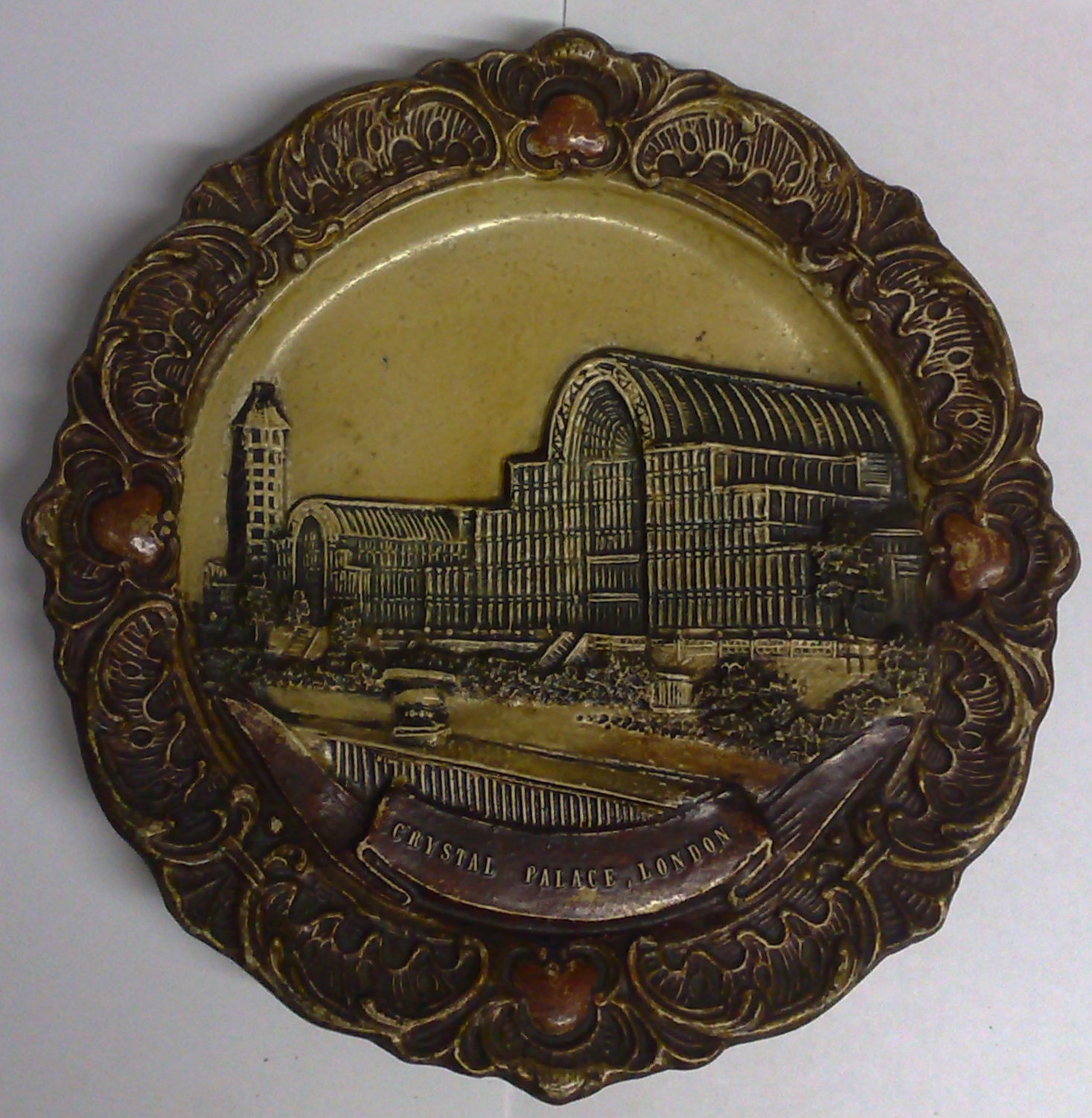 Crystal Palace Plaster_wall_plaque